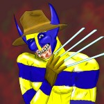 Freddy-Wolverine mashup