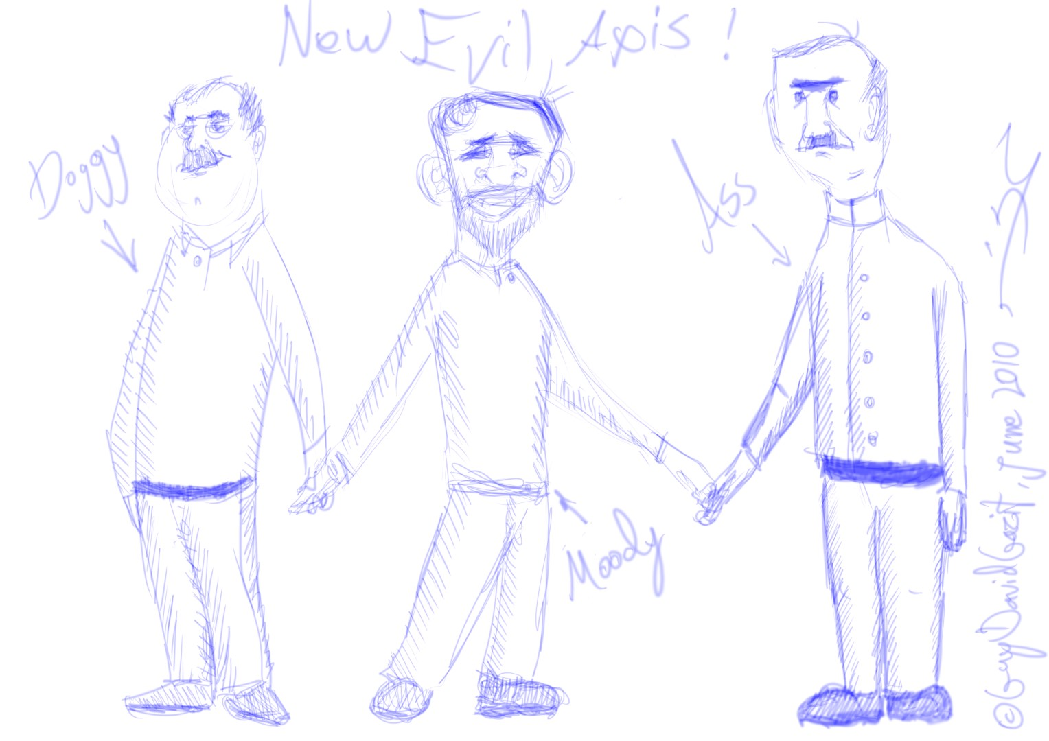 New-Axis-Evil WIP