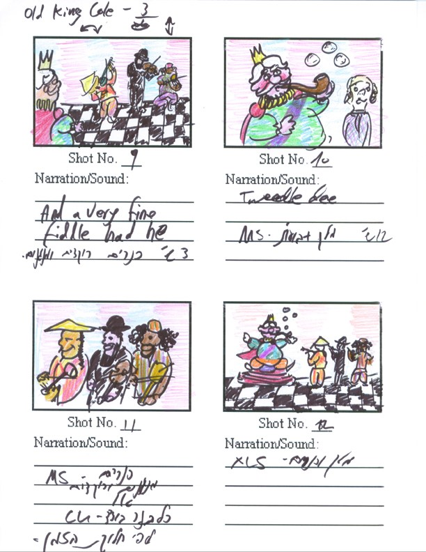 Old King Cole Storyboard (3)