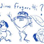 Pavarotti-Frog