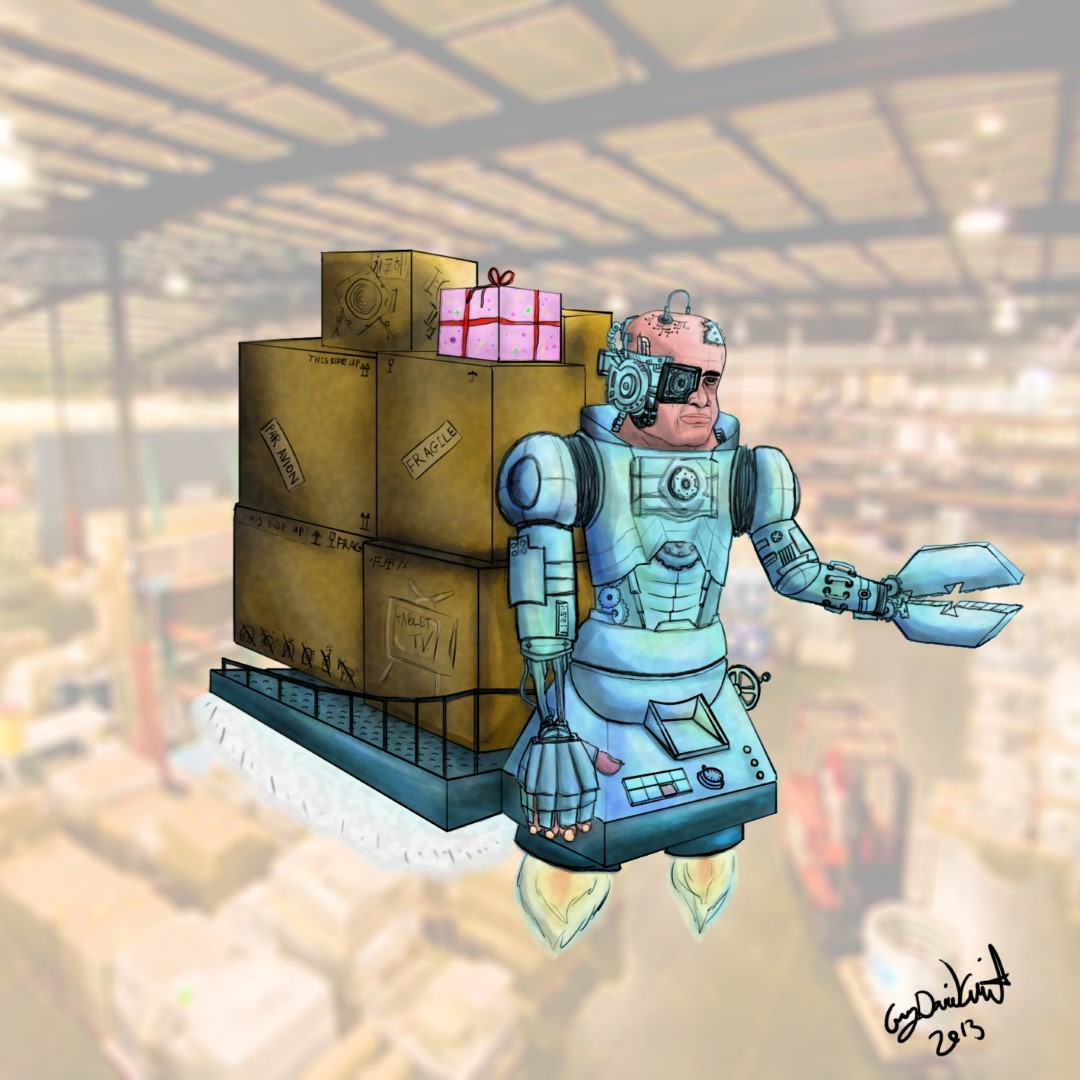 Steam-Punk Forkliftman