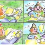 Storyboard - magic clown