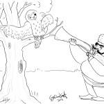 in an oak
